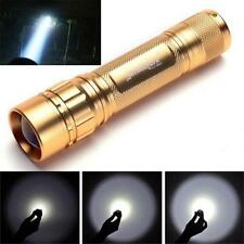 Zoomable 3000 Lumen 3 Modes CREE XML T6 LED Focus 18650 NICE Lamp Flashlight