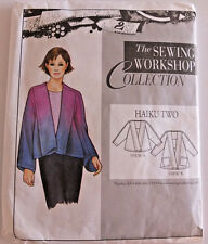 The Sewing Workshop Haiku Two Jacket cut to size  Med 12-14, unpinned