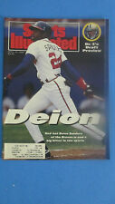 SPORTS ILLUSTRATED-APR.27,1992- DEION-DEION SANDERS=BASEBALL-ATLANTA BRAVES
