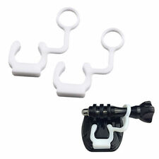 2x Anti Vibration Quick Release Silicone Locking Plug For GoPro Hero 1 2 3 4 HD