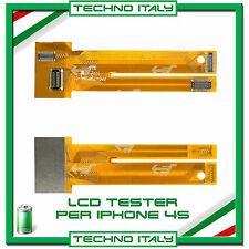 CAVO FLAT TESTER PER LCD IPHONE 4 4S DISPLAY TEST TOUCH SCREEN