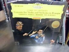 Herbert Von Karajan Christian Ferras Violin Japan Import LP DGG EX [Red Tulip]