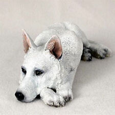 NEW White German Shepherd Figurine Sculpture Statue CC-DFL08C