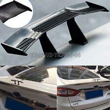 Mini Universal Carbon Fiber Spoiler Car Rear Tail Wing Auto Decoration Trunk Kit