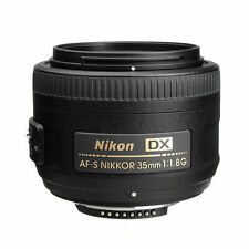 Nikon 35mm f/1.8G AF-S DX Lens for Nikon Digital SLR Cameras New