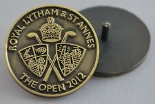 2012 OFFICIAL (Royal Lytham and St. Annes) British Open BALL MARKER