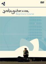 Justin sandercoe méthode de guitare débutants apprendre à jouer de la musique facile starter DVD