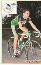ANDREA CHIURATO cyclisme cp carte postale Cycling Ciclismo GATORADE 92