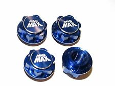 YY-XMAXX TRAXXAS X-MAXX WHEEL ADAPTER FOR HPI BAJA TRUCK TIRES BLUE