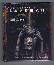 Quotable Sandman Hardcover Factory Sealed 2000 DC Comics/Vertigo