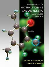 FUNDAMENTALS OF MATERIALS SCIENCE AND ENGINEERING - NEW HARDCOVER BOOK