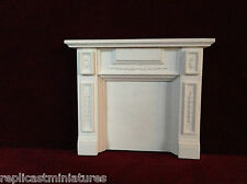 MN03 Panelled Fire Surround Plaster - RepliCast Miniatures - Dolls House