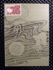 Paesi Bassi MK 1967 Medusa Jellyfish Maximum cartolina MAXIMUM CARD MC cm a8400