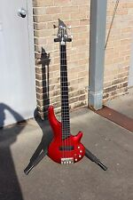 CORT Curbow Bass Guitar 4- String Cherry Red Finish NEW OLD STOCK