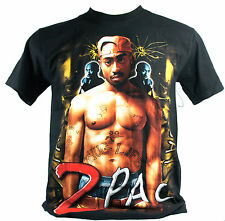 2 Pac Tupac Large Size L New! T-Shirt (All Eyez On Me ) 1268
