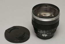 Zeiss Planar T* 85mm f/1.4 ZF lens for Nikon mount with focus gear