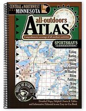 Central & Northwest Minnesota All-Outdoors Atlas & Field Guide