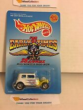 '32 Ford Vicky WHITE * Early Times '97 Mid-Winter Rod Run * Hot Wheels * W7