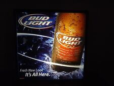 """BUD LIGHT 2004 """"IT'S ALL HERE"""" LIGHTED SIGN - BRAND NEW IN BOX"""