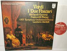 6700 105 Verdi I Due Foscari Ricciarelli Carreras ORF Sym Orch Gardelli 2LP Box