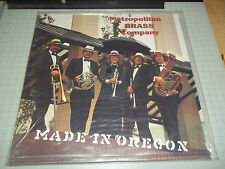 Made In Oregon The Metropolitan Brass Company 1985 Portland NEW James DePriest