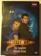 DOCTOR WHO: Complete Second Series - MINT NEW DVDS!!