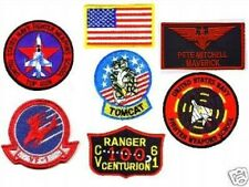 TRUE-TO-ORIGINAL AS MOVIE TOPGUN TOP GUN MAVERICK NAME FLIGHT SUIT PATCH SET