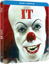 Stephen Kings IT Blu-Ray STEELBOOK LIMITED EDITION Region Free New.