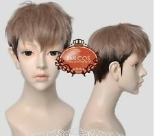 LY_913 Jean Kirstein Attack on Titan Short Blonde Black Anime Cosplay Wig