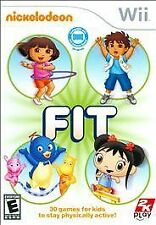 Wii NICKELODEON FIT NEW VIDEO GAME First fitness game designed for children