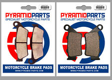 CCM 644 DS 02-06 Front & Rear Brake Pads Full Set (2 Pairs)
