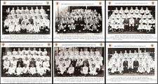 6 GREAT BRITAIN RUGBY LEAGUE TEAM PHOTOGRAPHS 1910-1936