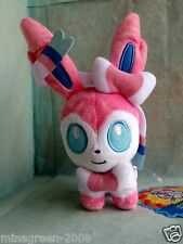 HTF JAPAN Pokemon Center Limited POKEDOLL 2014 SYLVEON #700 with Paper Tag Plush
