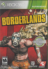 Borderlands Xbox 360 Brand New Sealed