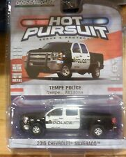 Green Light Collectibles Hot Pursuit Tempe Police 2015 Chevrolet Silverado