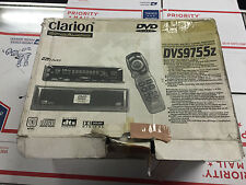 NEW Open box Old School Clarion DVS9755Z DVD Player & 5.1 Processer,