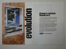 6-7/1990 PUB FORD AEROSPACE GALILEO GALILEI SPACE EXPLORATION ORIGINAL AD