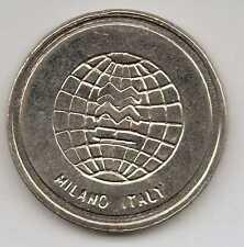 ITALY - Milano 5 - Nickel Token - 25mm