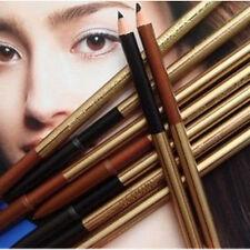 2X NEWEST Waterproof Double-end Brown Black Makeup Eyebrow Eyeliner Pencil Gift