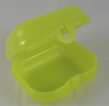 Tupperware Oyster Packables Storage Container Lunch Box or Toys Yellow New