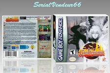 "BOITIER DU JEU ""CASTLEVANIA ARIA OF SORROW"", GAME BOY ADVANCE, FR. SANS LE JEU."