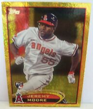 JEREMY MOORE (R) 2012 TOPPS GOLD SPARKLE #277