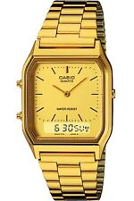Casio Mens Combi Watch Gold AQ-230GA-9DMQYES