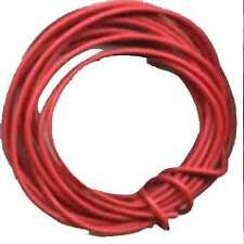 10 Ft. Red Wire for O Gauge Scale TRAINS