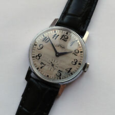 Classic ZIM - POBEDA Mechanical Wrist Watch. 15 jewels. Made in USSR