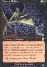 Grave Defiler x4 Magic the Gathering 4x Apocalypse mtg card lot zombies