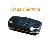 For Ford Focus C-max Galaxy 3 button flip Remote key fob REPAIR SERVICE FIX