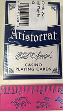 ARIA RESORT & CASINO DECK OF CARDS LAS VEGAS USED AT TABLES BLUE BOX FREE SHIP