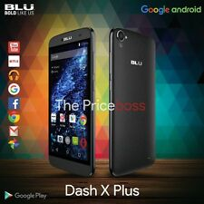 Blu Dash X Plus D950U 4G Android Dual Sim Unlocked GSM Cell Phone Black New