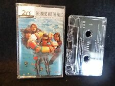 1999 The Best of the Mamas & the Papas 20th Century Masters CASSETTE TAPE